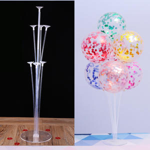 Confetti Balloon Column Stand Wedding-Decoration-Supplies Baby Shower Birthday-Party