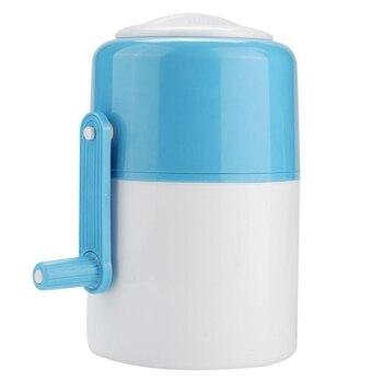 Hot Mini Portable Hand Shake Manual Ice ręczna maszyna do ścinania lodu Home Ice Razor Snow Cone Manufacturing Kitchen Tools|Kruszarki i maszynki do lodu|   -