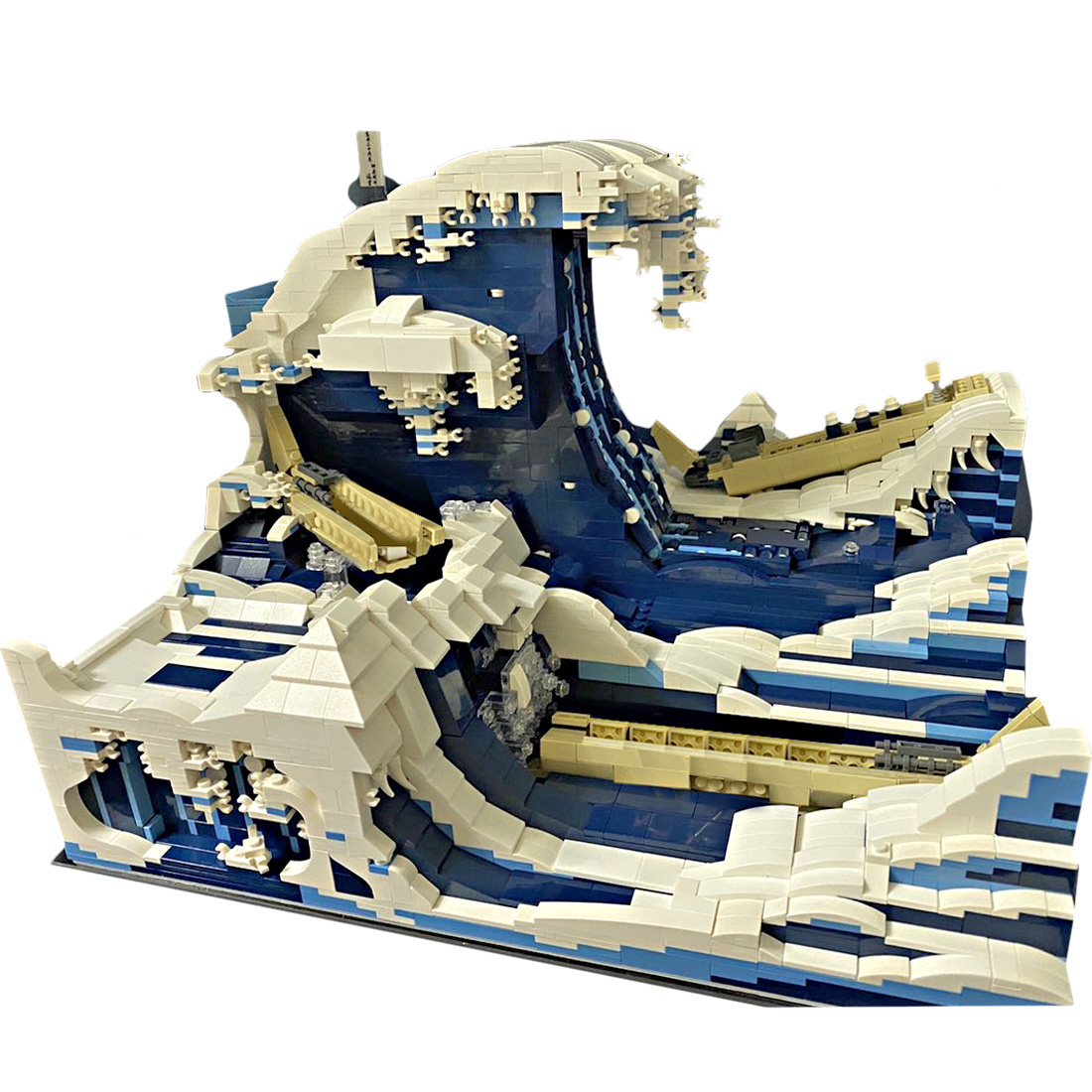 CREATOR MOC 27620 Fast Cargo Boat Battling The Waves by Jerry MOCBRICKLAND