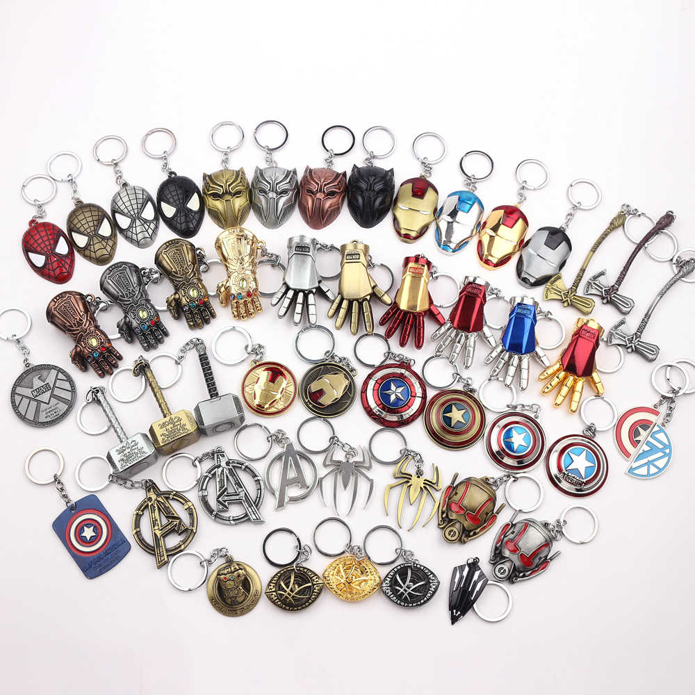 The Avengers 4 Thor Axe Hammer Keychain mjolnir Infinity War The Dark World Key Finder Iron Man Keyring Jewelry Accessories