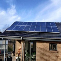 Solar System For Home 10KW Solar Panel 350w Solar Inverter 10kW 380v Pure Sine Wave Dual MPPT PV Panel Support Cabinet On Grid