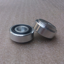 4pcs 30*13mm Full Aluminum Feet For Amplifier Speaker With Rubber Ring