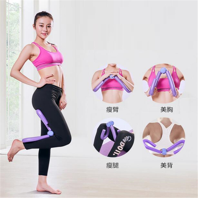 Multi-function Durable Thigh Master Leg Arms Chest Muscle Fitness Workout Exercise Machine Gym Equipment Light-weight Foam Metal 2