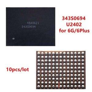 Image 1 - AliSunny 10pcs U2402 Screen Controller ic Reball per iPhone 6 e 6Plus 6G Nero Meson Touch ic 343S0694 circuito integrato di Controllo