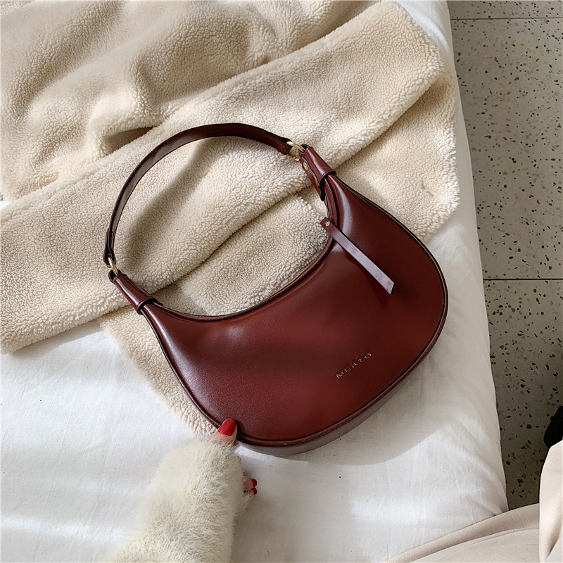 Vintage Small Shoulder Bags For Women 2020 Bolsa Feminina Leather Crossbody Bag Women Handbags And Purse Solid Color