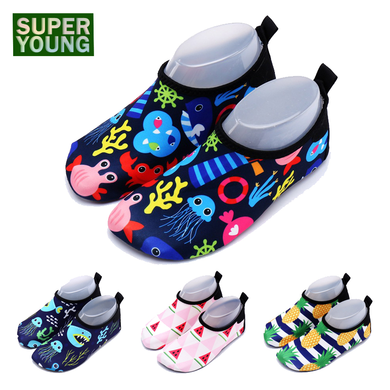 Toddler Boy Kids Beach Water Sports Sneakers Children Swimming Aqua Barefoot Shoes Baby Girl Surf Fishing Diving Outdoor Slipper