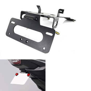 For Honda CB1000R 2018 2019 2020 License Plate Holder Bracket Rear Tail Tidy Fender Eliminator kit Black Motorcycle Aluminum for honda cbr500r cbr 500r cb500f 2016 2017 2018 2019 2020 license plate holder bracket rear tail tidy fender eliminator kit