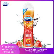 Durex Saucy Strawberry Lubricant 50ml Sexuales Anal Oral Sex Gel Water