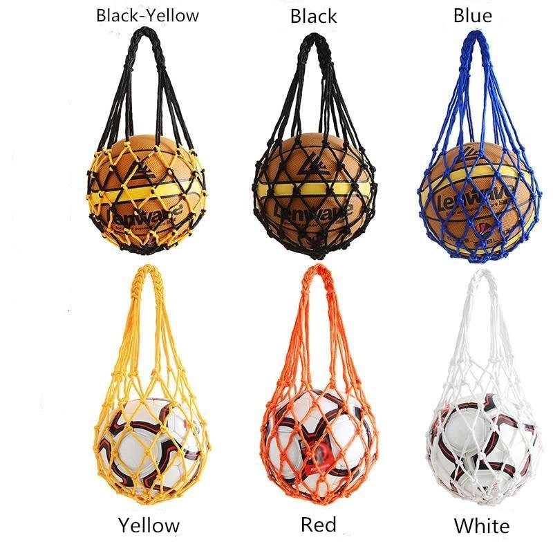 Nylon Net Bag Ball Carry Mesh Volleyball Basketball Football For Soccer Ball, Basketball, Volleyball, Football, Or Any Balls