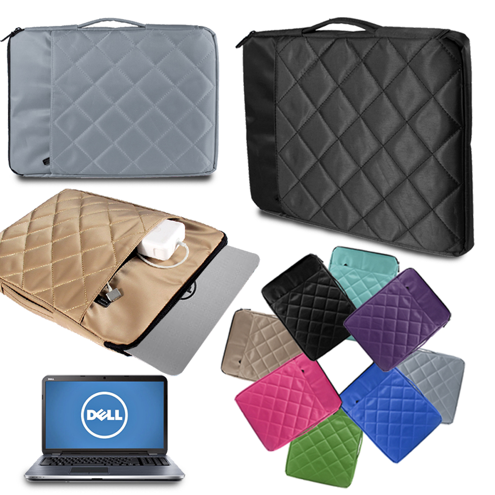 Shockproof Laptop Sleeve Bag Notebook Case for Dell Alienware 13/Chromebook/Inspiron 13/Latitude Luggage Rod Computer Bag