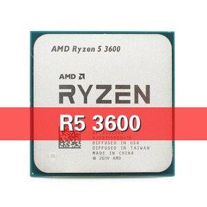 AMD Ryzen 5 R5 3600 3.6GHz Six-Core Twelve-Thread Processor 7NM 65W L3=32M Socket AM4 scattered pieces cpu no fan