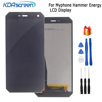 цена на Original For myPhone Hammer Energy LCD Display Touch Screen Assembly Digitizer Glass Panel Replacement LCD Display Free Tools