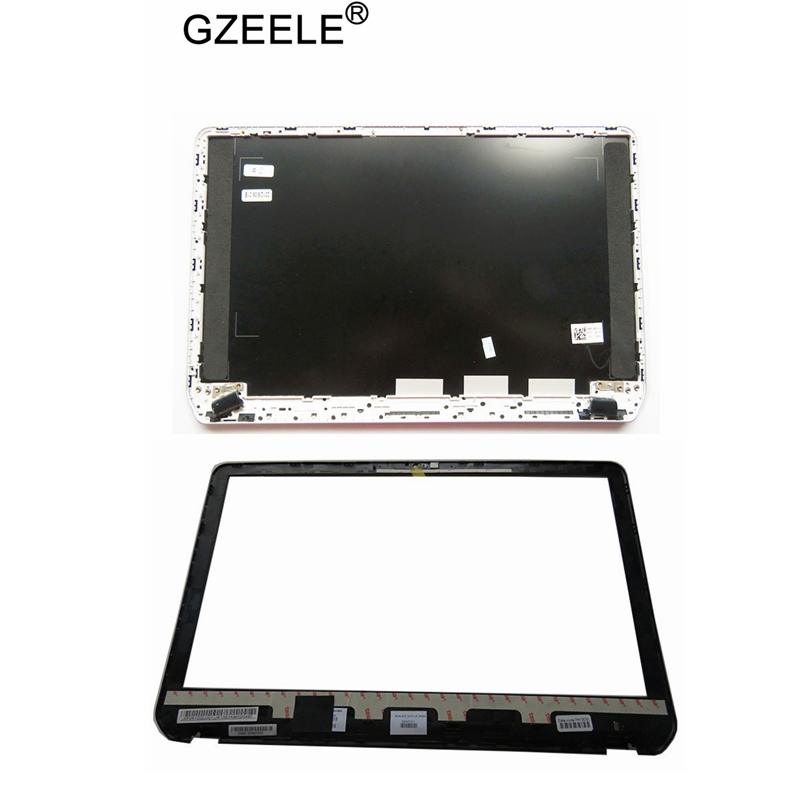 GZEELE Laptop New For HP Envy For Pavilion M6 M6-1000 LCD Top Cover Back Rear Lid A Shell M6-1001 1045 M6-1125dx M6-1035dx