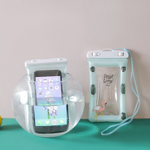 Waterproof Beach Bags Touch Screen Mobile Phone Case Keep Dry Swimming Pool Diving Pouch Pvc Drifting Sports Bags for The Beach