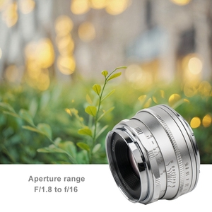 Image 5 - Pergear 25mm f1.8 Manual Prime Lens to All Single Series for Fujifilm for Sony E Mount & Micro 4/3 Cameras A7 A7II A7R XT3 XT20