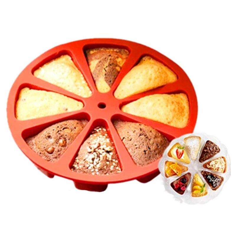 WYSE Cake Decorating Tools Pizza Baking mould Silicone Mold Fondant Mold Chocolate Gumpaste Mold