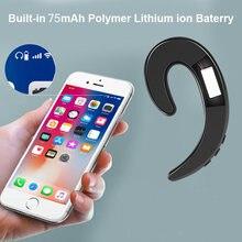 Bluetooth 4.1 fones de ouvido estéreo condução óssea fone à prova dwireless água esportes sem fio fone condução com microfone