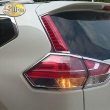 2 sztuk dla Nissan Xtrail x-trail X trail Rogue 2014 - 2019 LED DRL nakładka na tylny zderzak światła przeciwmgielne światła hamowania lampka sygnalizacyjna
