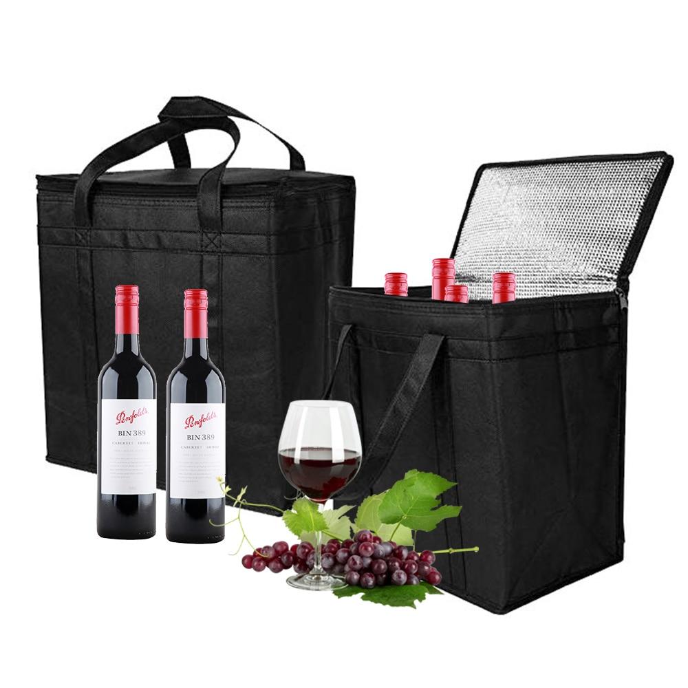 Портативный крутой мешок изолированный термальный кулер для еды, питья, ланча, пикника, сумки для отдыха на открытом воздухе, инструменты дл...