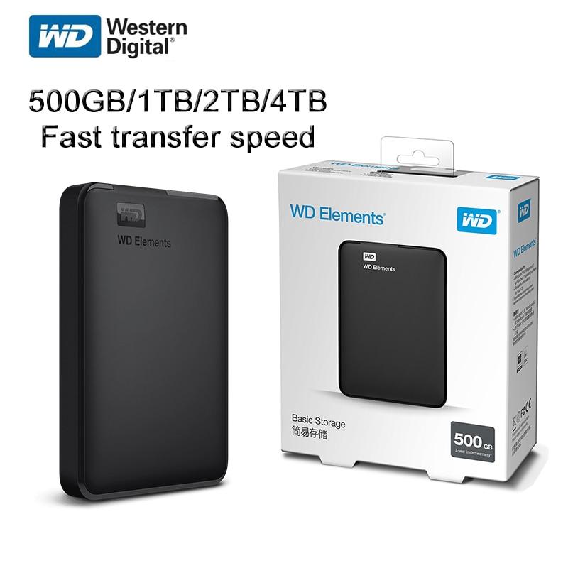 Western Digital WD Elements Hard Drive Hard Disk HDD 2.5