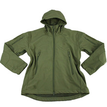 Outdoor Sports Army green Tactics Men's Women's Camouflage Soft Shell Jacket Windproof Waterproof Breathable