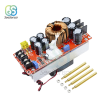 1500W 30A DC-DC Step-up Boost Converter 10-60V to 12-90V Constant Current Power Supply Module LED Driver Voltage Power Converter 1500w dc dc step up boost converter 10 60v to 12 97v 30a constant current power supply module led driver voltage power borad