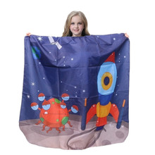 Haircut Salon Hairdressing Cape For Kids Child Styling Smock Waterproof Shampoo & Cutting Household Capes Barber Special Apron