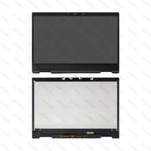 LCD Display Touch Screen Glass Panel Assembly With Frame For HP x360 13m-ag 13m-ag0001dx 13m-ag0002dx