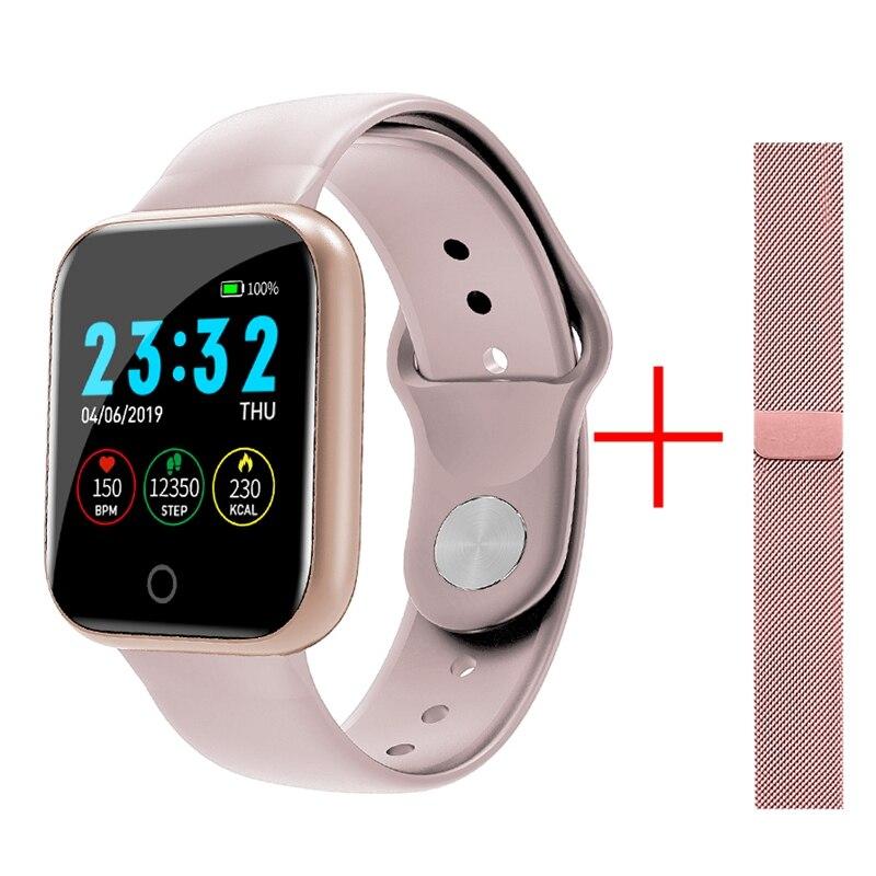 I5 Smart Watch Waterproof Heart Rate Monitor Fitness Tracker Pedometer Bracelet Pk IWO 8 10 Sport Watch For Honor Huawei