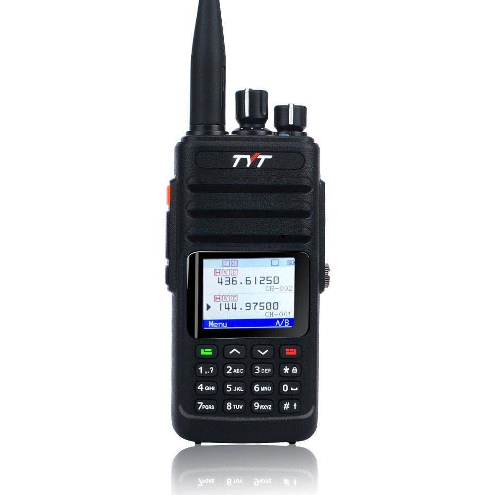 Walkie Talkie TYT TH-UV8200 IP67 Waterproof Dual Band GPS 10W HIGH POWER FM Portable Analog Radio 256ch Color Diplay,VOX,DTMF