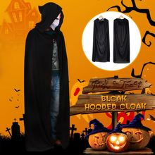 Cloak Cape Costumes Hooded-Medieval Halloween Party Witch Vampire Unisex Adult for Men