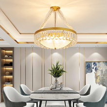 Modern LED Crystal Chandelier Light Pendant Hanging Lamp Gold BlackCristal Chandelier Lighting for Living Dining Room Decoration modern light luxury led crystal chandelier tree branch wedding decoration lamp for dining room bedroom