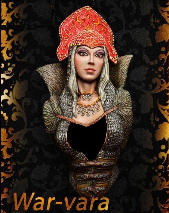 1/10 Egyptian Princess Woman Bust   Resin Figure Model Kits Miniature Gk Unassembly Unpainted