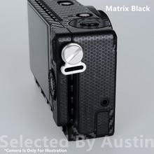 Skóra aparatu kalkomania folia owijająca do Sigma FP zabezpieczenie przed zarysowaniem