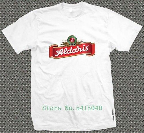Men's Aldaris Beer Printed T-Shirt - Beer Festival Latvian Real Ale Camra Riga Unisex Cool Pride T Shirt Men New