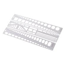 U-STAR Metal Model aracı oymalar şekillendirme blok gümüş 13x 2cm/5.11x0.78''