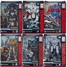 Hasbro transformadores série de estúdio série ss optimus prime megatron starscream lronhide transformador bolide robô presente de natal