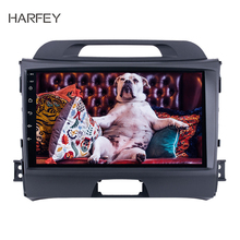 Harfey HD 9″ Navi Stereo Car GPS Autoradio 2Din Touchscreen Android 8.1 for KIA Sportage 2010-2015 with Bluetooth USB Aux WIFI