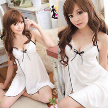 Sexy Women's Lingerie Lace Lingerie Dress Sexy Underwear Whi