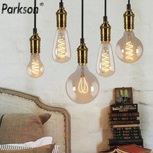 Светодиодная лампа Эдисона t45 st64 g80 g95 g125 спиральсветильник