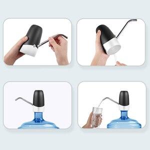 Автоматический диспенсер для воды в бутылках Ручной пресс для воды портативный смарт беспроводной галлон переключатель питьевой бутылки USB бытовой