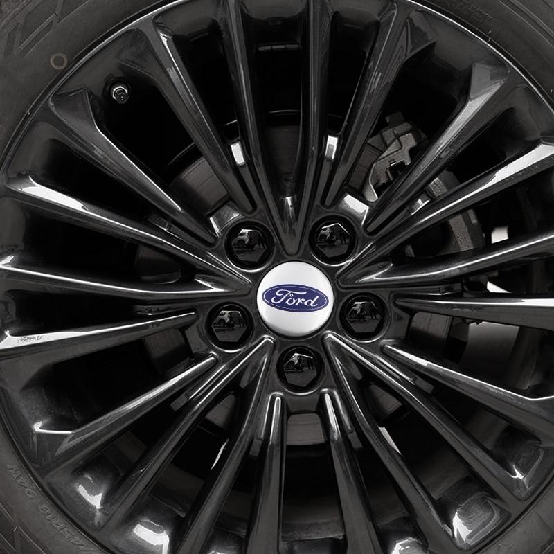 1pcs Car Accessories 56.5M Alumin Car Wheel Hub Center Cap Sticker For Ford Mk2 Mk3 Mk4 Mk5 Mk7 Fiesta FOCUS 2 3 4 5 Car Styling