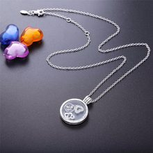 2019new summer stone Locket holds necklace of memorie Fashion Jewelry 100% 925 Sterling silver Fit Pandora Bracelet Name Beads(China)
