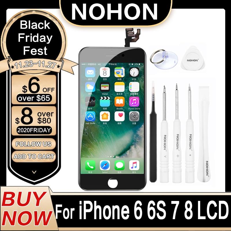 ЖК-дисплей NOHON для iPhone 8 7 6 6 S, экран для iPhone8 iPhone7 iPhone6 S, оригинальный запасной дигитайзер в сборе, 3D Touch AAAA
