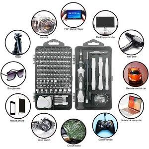 Набор многофункциональных отверток 122 в 1 для ремонта мобильных телефонов Apple, комплекты для разборки бытовой техники