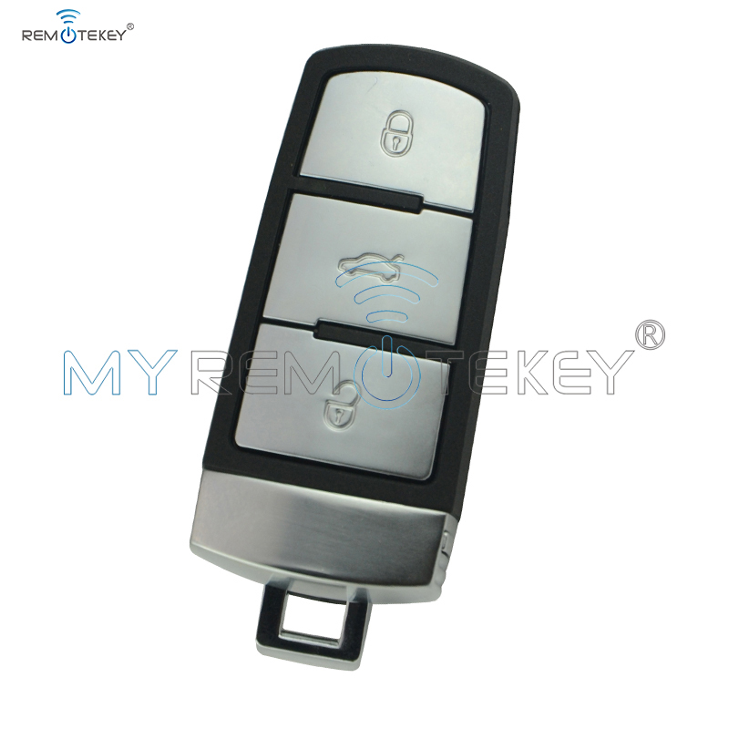 Keyless smart car key for VW Volkswagen Magotan Passat CC 2005 2006 2007 2008 2009 2010 433Mhz 3C0 959 752BA 3 button remtekey