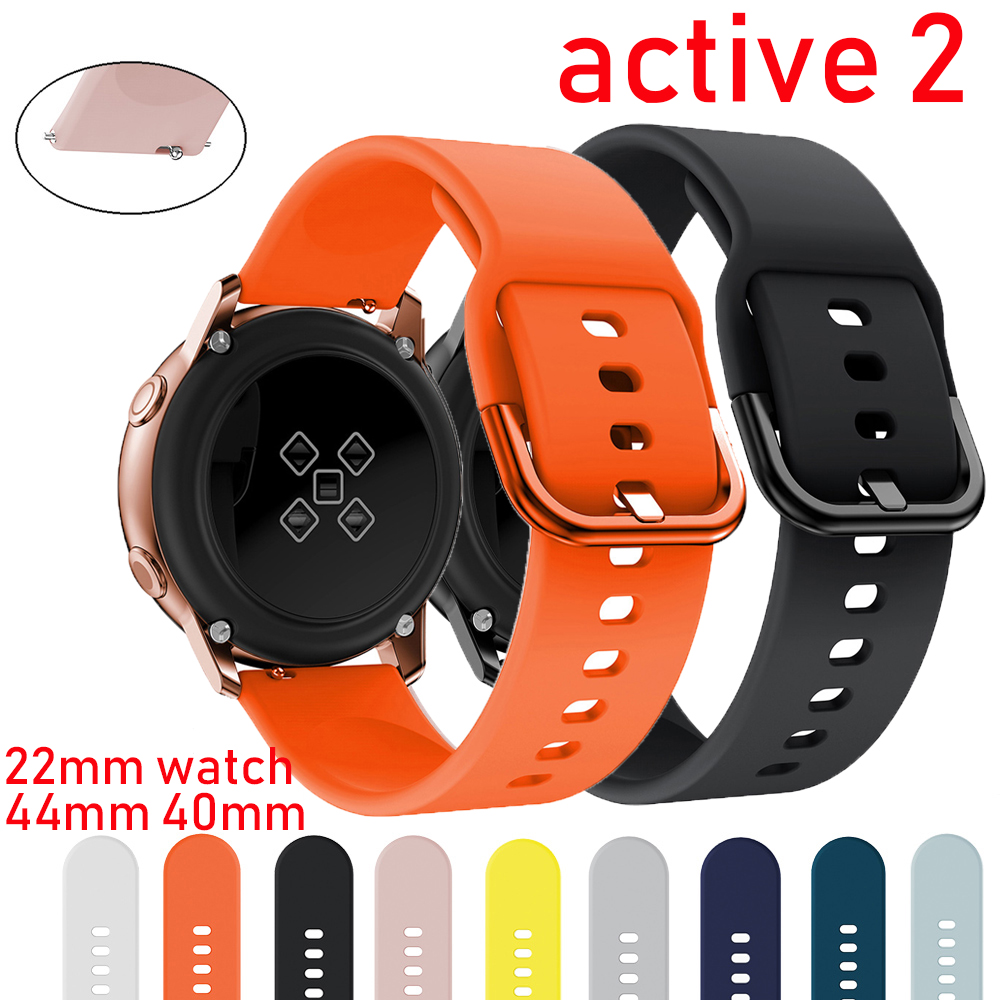 Galaxy Watch Active 2 For Samsung Galaxy Watch 44mm 40mm Watch Strap Huawei Watch 2 Pro Gear Sport Bracelet Band 42mm 20mm