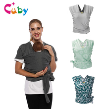 цена на Double baby sling autumn and winter full 100% cotton breathable suspenders backpack baby child bags