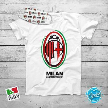 T camisa Andra Tutto Bene Milán Maglia Uomo Donna Bambino Maglietta deporte Calcio