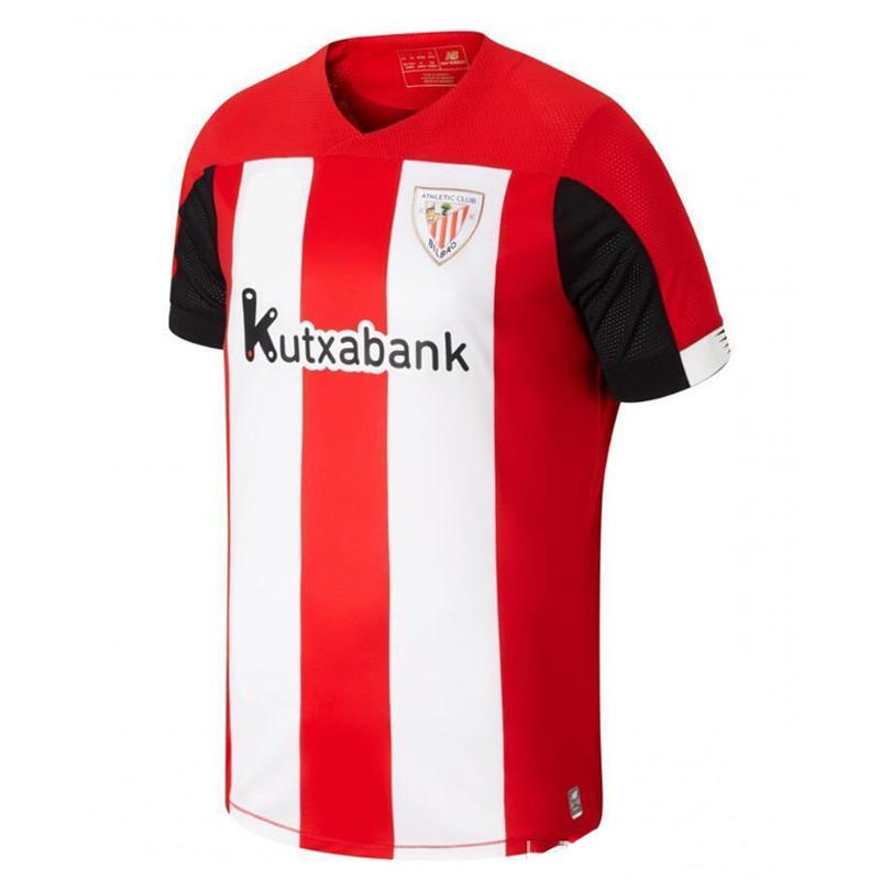 NEW 2019 Bilbao Soccer Jersey Home WILLIAMS MUNIAIN ADURIZ Shirt 2019 2020 Camisetas De Futbol GODIN Football Shirts